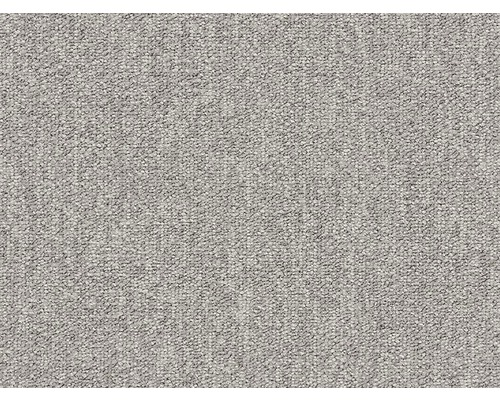 Teppichboden Schlinge E-Blitz mittelgrau 400 cm breit (Meterware)