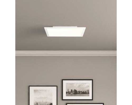 Panneau LED RGBW Abie blanc variable blanc 24W 2400 lm 2700-6500 K blanc chaud - blanc lumière du jour 400x400 mm avec télécommande