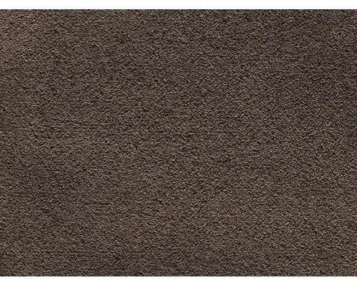 Teppichboden Saxony Venezia schokobraun 400 cm breit (Meterware)