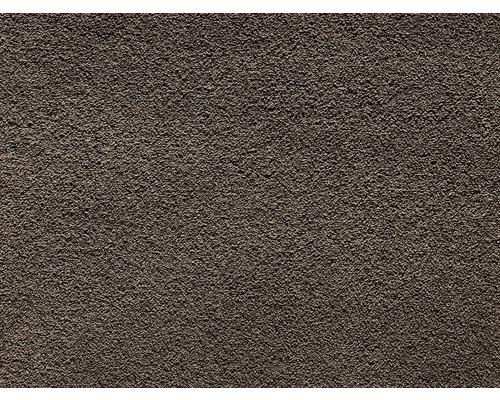 Teppichboden Saxony Venezia dunkelbraun 400 cm breit (Meterware)