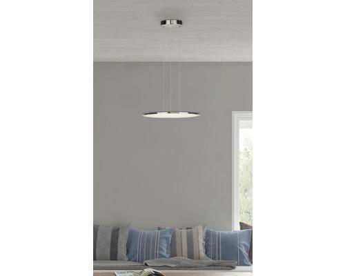 Lampe suspendue LED Uranus fer avec 1ampoule 3000lm 3000K blanc chaud Ø 450mm variable