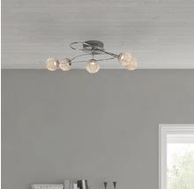 Plafonnier LED EEK A+ Dajana 5x5W chrome