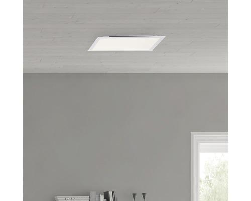 Plafonnier LED à intensité lumineuse variable 24W 2.000lm 2.700-6.500K 400x400mm Allie avec fonction lumière nocturne + télécommande