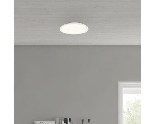 Plafonnier LED Ceres blanc avec 1ampoule 1000lm 3000K blanc chaud Ø 250mm