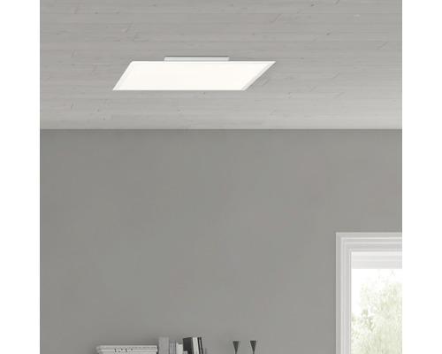 Panneau LED RGBW Abie blanc variable blanc 40W 4000 lm 2700-6500 K blanc chaud - blanc lumière du jour 600x600 mm avec télécommande
