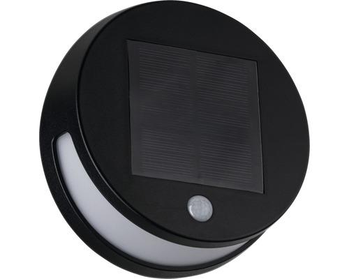 Applique murale solaire IP44 avec détecteur de mouvements 3W 85 lm 3000 K blanc chaud ØxT 176x62 mm Helena anthracite