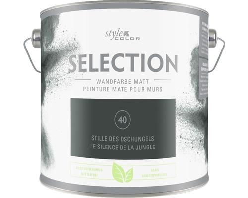 Premium Wandfarbe Style Color SELECTION konservierungsmittelfrei Stille des Dschungels 2,5 L