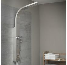 Panneau de douche avec inverseur Schütte Sansibar acier inoxydable-thumb-1