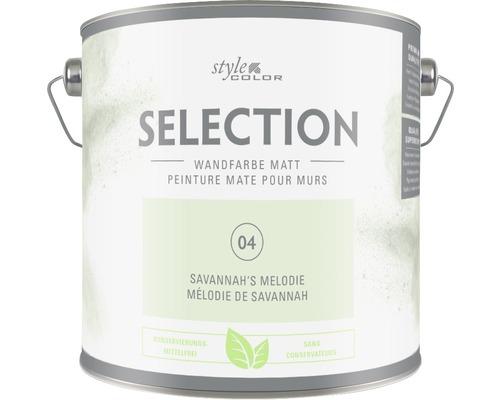 Premium Wandfarbe Style Color SELECTION konservierungsmittelfrei Savannah''s Melodie 2,5 L