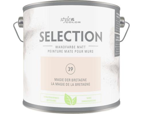Peinture murale Premium Style Color SELECTION sans conservateur Magie de la Bretagne 2,5 L