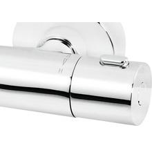 Robinetterie de douche thermostatique Schulte moderne chrome D 96963902-thumb-1