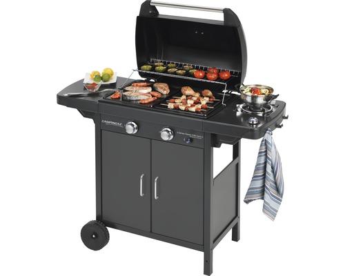 Barbecue au gaz CAMPINGGAZ 2series EXS Vario Black, 2 brûleurs