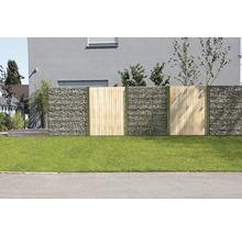 Kit de base pour clôture gabions GAH Alberts Step2 à visser 200x180 cm galvanisé à chaud-thumb-2