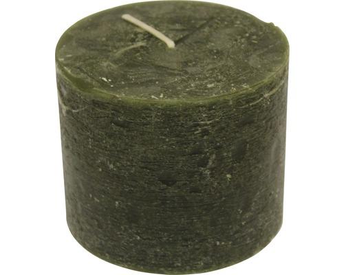 Bougie Citronella Recyle 12 cm vert