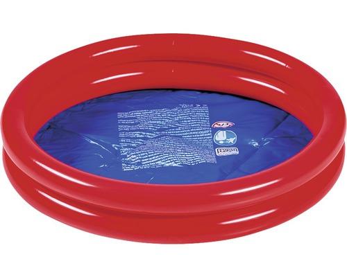 Pataugeoire, piscine pour enfant, piscine hors sol enfants, piscine 2 boudins orange