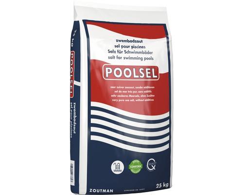 Sel de mer pour piscine Poolsel 0,5 – 4,0 mm pour la désinfection de piscine