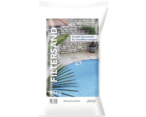 Sable filtrant 0,4-0,8 mm pH neutre lavé et séché