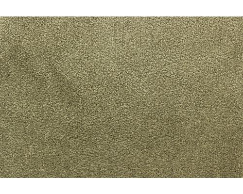 Moquette velours Palmares olive largeur 400 cm (au mètre)