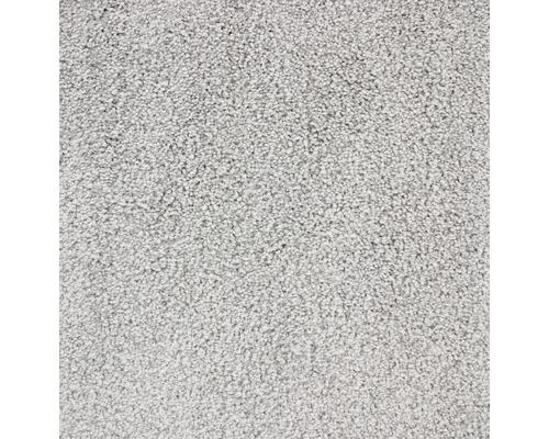 Teppichboden Velours Charisma silbergrau 400 cm breit (Meterware)
