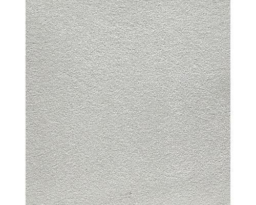Moquette velours Cloud gris argent largeur 500 cm (au mètre)