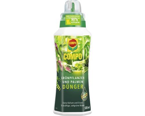 Engrais pour plantes vertes et palmiers Compo 500 ml