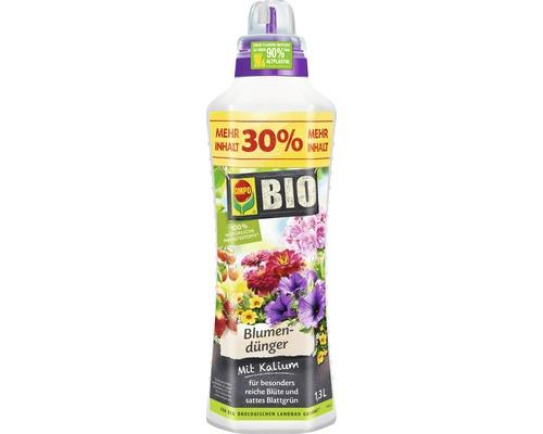 Engrais pour fleurs universel Compo Bio 1,3 L