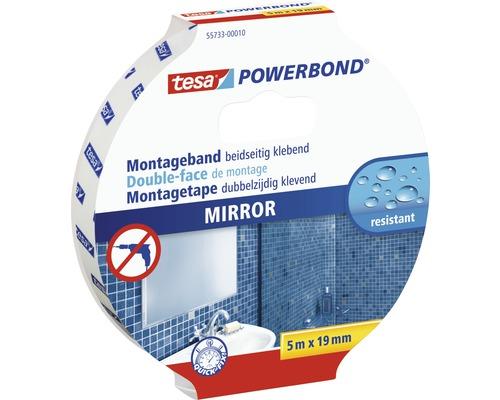 Bande adhésive pour miroir Bande de montage tesa Powerbond 5m x 19mm