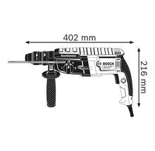 Bohrhammer mit SDS plus Bosch Professional GBH 2-28 F inkl. Flachmeißel, 3-tlg. Bohrer-Set SDS plus-5 (6/8/10 mm) und L-Case-thumb-1