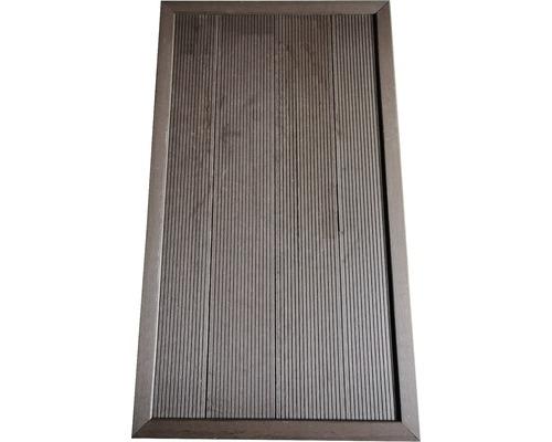 Plaque de protection du gazon pour douche de jardin