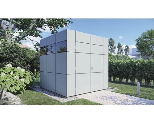 Abri de jardin Bertilo Design HPL 1 230 x 228 cm gris anthracite