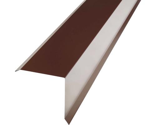 PRECIT Kantenwinkel für Metallziegel chocolate brown RAL 8017 1 m