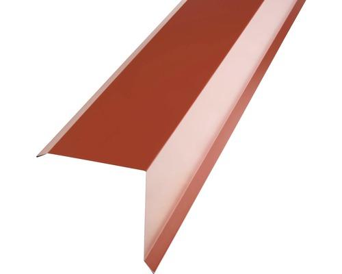 PRECIT Kantenwinkel für Metallziegel oxide red RAL 3009 1 m
