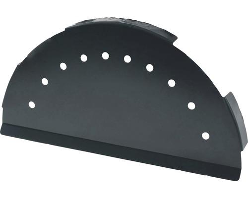 Capuchon PRECIT pour bande faîtière anthracite grey RAL 7016 280 mm