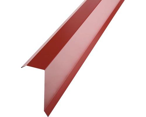 PRECIT Kantenwinkel für Trapezblech H12 brown red RAL 3011 1 m
