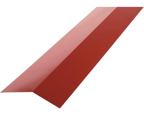 PRECIT Rinneneinhang für Trapezblech H12 brown red RAL 3011 1 m