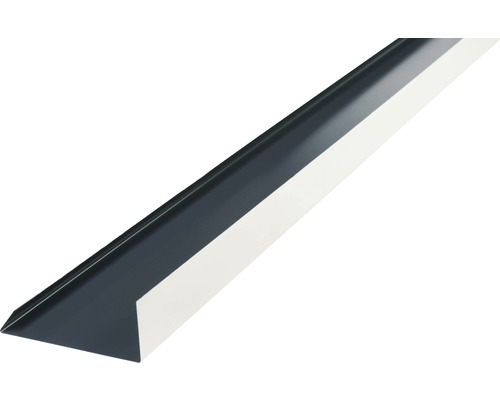 Angle d''arête tablier PRECIT anthracite grey RAL 7016 1000 x 100 mm