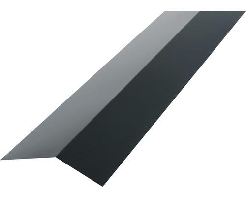 PRECIT Rinneneinhang für Trapezblech H12 anthracite grey RAL 7016 1 m