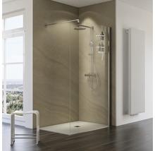 Colonne de douche avec thermostat Schulte Classic plus pomme haute extra plate rond chrome D964031 02-thumb-4