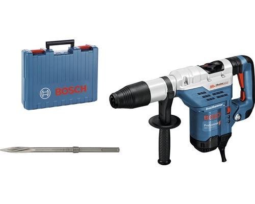 Marteau perforateur avec SDS-Max Bosch Professional GBH 5-40 DCE avec burin pointu et boîte à outils