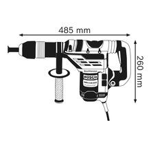 Bohrhammer mit SDS max Bosch Professional GBH 5-40 DCE inkl. Spitzmeißel und Handwerkerkoffer-thumb-5