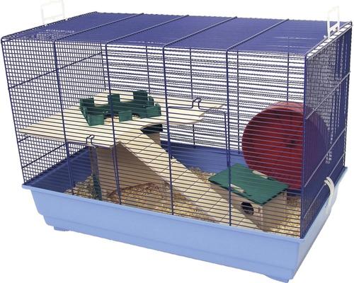 Cage pour rongeurs Skyline Castle 2 bleu