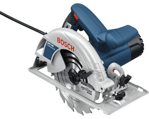 Scie circulaire portative Bosch Professional GKS 190 avec lame de scie circulaire (Optiline Wood, 190 x 30 x 2,0 mm, 16 dents)