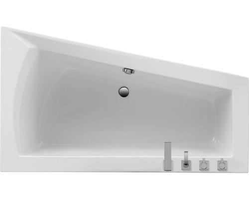 Baignoire Delta I 170x100x65.5 cm modèle A main droite blanc