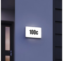 Éclairage extérieur à LED Steinel LN1 blanc avec ampoule 350lm 3000 K blanc chaud 195x300 mm-thumb-4