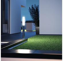 Borne extérieure à LED Steinel avec capteur 8,6W 812 lm 3.000 K blanc chaud H 1.038 mm GL60 acier inoxydable-thumb-4