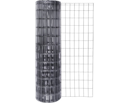 Grillage soudé Fix-Clip Pro 122 cm 10m anthracite