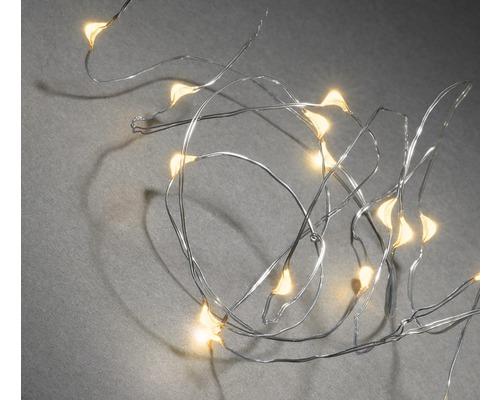 Guirlande lumineuse Konstsmide couleur d''éclairage couleur ambre 20 micro LED-0