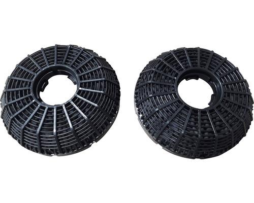 Filtres à charbon Amica FWK 124 2 pièces