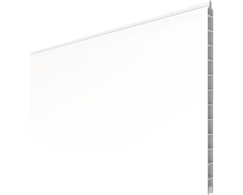 Profilé simple BasicLine 180x30x1,9 cm, blanc