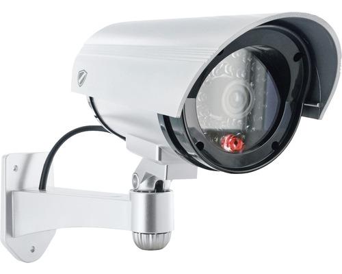 Caméra factice avec LED rouge clignotante alimenté par pile Schwaiger HSD100 511